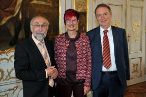 Wolfgang Bähner, Petra Beer und Volkmar Thumser (Fotograf und Copyright: Andreas Lode)
