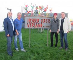 Wolfgang Bähner, Geschäftsführer Bertram Sellner, Petra Beer, Volkmar Thumser