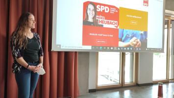 Heike Heubach, Kandidatin für den Bundestag im Stimmkreis Augsburg-Land/Aichach-Friedberg