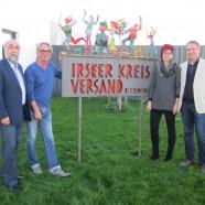Fraktionsvorsitzender Wolfgang Bähner, Geschäftsführer Bertram Sellner, Bezirksräte Petra Beer und Volkmar Thumser