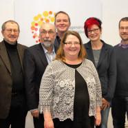 Fraktionsmitglieder Dr. Gerhard Ecker, Wolfgang Bähner, Volkmar Thumser, Geschäftsführerin Claudia Junker-Kübert, Petra Beer, Thomas Krepkowski