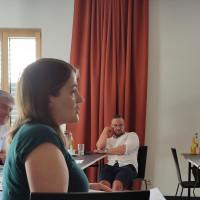 Ronja Endres bei der Tagung im Hotel einsmehr in Augsburg